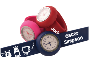 Great watches for small children from Stuck On You - we'll be trying them out!