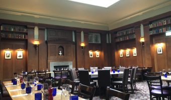 A very Cambridge lunch … at Pizza Express