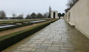 Visiting the American War Cemetery in Cambridge